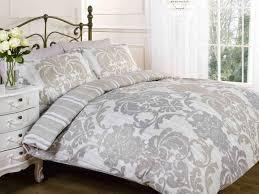 bedroom elysee printed duvet set natural with covers