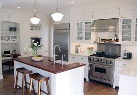 Bright White Kitchen Cabinets White Kitchen Cabinets With Stainless Steel Countertops