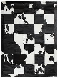 Calf Skin Rug Miss Amara Rugs Spanish Carousel Black U0026 White Cowhide Patchwork