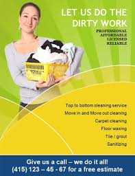 14 free cleaning flyer templates house or business cleaning ads valo