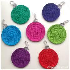 crochet christmas interesting crochet christmas tree ornaments ornament pattern moogly