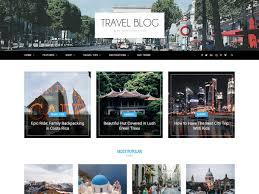 best blog themes ever 20 best wordpress travel blog themes 2018 athemes