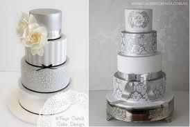 silver wedding cakes silver anniversary cakes cake magazine cake magazine