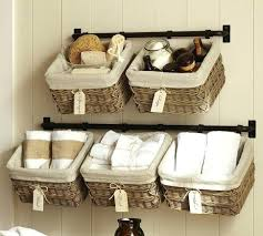 Wicker Bathroom Wall Shelves Wicker Bathroom Wall Shelves Wicker Basket Wall Storage System