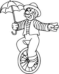 Clown Visage Az Coloriage Thebarricadeco Coloriage Clown  postolinfo