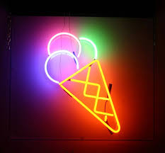 best 25 electric signs ideas on blue neon lights