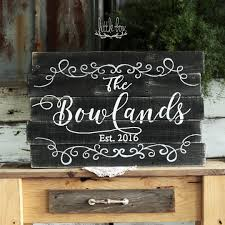 personalized name sign established sign personalized sign