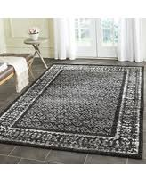 Black And Silver Rug Here U0027s A Great Deal On Safavieh Adirondack Collection Adr110a