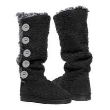 womens boots jcpenney jcpenney muk luks malena crochet from jcpenney wishlist