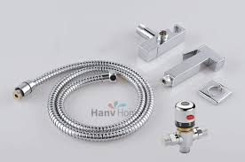 mixing valve for hand sink thermostatic mixing valve toilet hand held sprayer brass shattaf