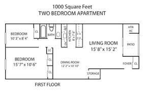 floor plans 1000 sq ft pennswood apartments townhomes