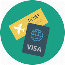 Travel Visa images Flight holidays travel visa icon png
