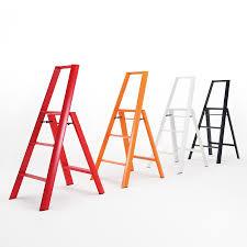lightweight folding 3 step aluminum step stool ladder stool