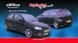 stylingset opel corsa c 9 00 u0027basic u0027 by autostyle youtube