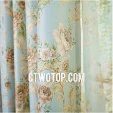 Vintage Floral Curtains Captivating Vintage Floral Curtains And Luxury European Floral