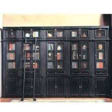 library inset bookcase wall unit oxford by parker house
