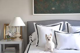 interior designer grant k gibson makes a matouk bed