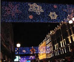christmas lights in london 2005 regent street oxford street