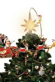 disney u0027s timeless holiday treasures tree topper by the bradford