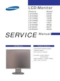 samsung 540 740 940 service manual electrostatic discharge