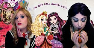 ever after high halloween costume nyx 2015 face award entry ever after high raven queen and apple