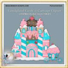 candyland castle candyland castle clipart 1 00 magicmaker scraps shoppe