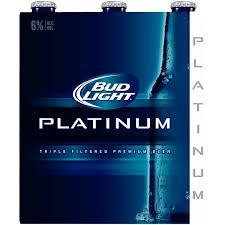 bud light beer alcohol content bud light platinum light beer from qfc instacart