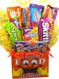junk food basket junk food junkie gift basket small a gift idea for