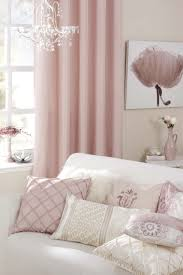 Soft Pink Curtains An I Convince To Pink Everything But Taupe Walls For
