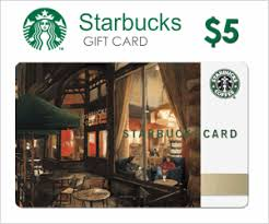 5 gift card starbucks 5 e gift card giveaway
