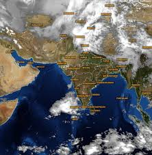 India Weather Map by Allahabad Varanasi Swelter Under Intense Heat Rain Likely To