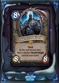 Decks Hearthstone July 2017 by The Lich King A Different Kind Of Death Knight Esports Edition