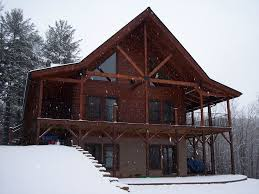 Wrap Around Porch Floor Plans by Two Story Log Homes With Wrap Around Porch