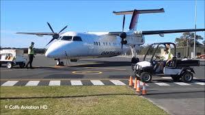 Car Hire Port Macquarie Airport Baby Qantas Qantaslink Bombardier Dash 8 Q200 Vh Tqs At Port