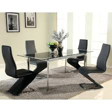 small black extendable dining table black gloss extending dining