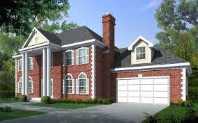 Colonial Style Floor Plans by Colonial Style House Plans Plan 1 208