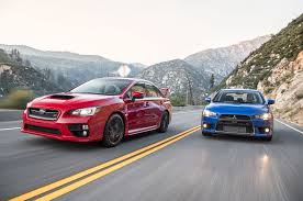 subaru sti the end of a rivalry mitsubishi lancer evolution mr and subaru