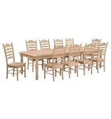 120 inch extension farm table wood you furniture anderson sc