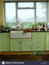 interior green country kitchens in lovely victorian kitchen