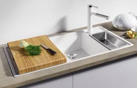 cuisine ergonomique ergonomiques et efficaces les éviers du concept axial de blanco