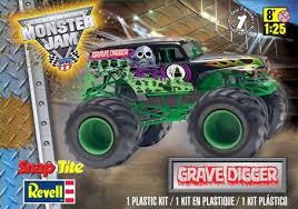 revell grave digger monster truck model kit
