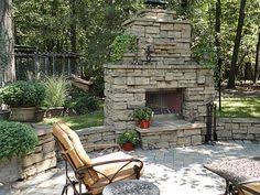 Backyard Fireplace Plans by Backyard Landscape Ideas With Fire Place Cozy Up Outdoor
