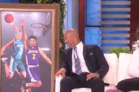 ellen degeneres gives lonzo ball a hilarious gift for his new pad