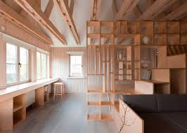 Plywood Design 10 Of Dezeen U0027s Most Popular Plywood Interiors On Pinterest