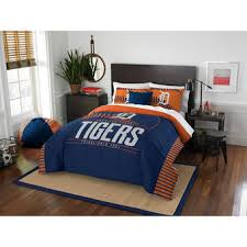 Tiger Comforter Set Detroit Tigers Bed And Bath Bedding Towels Mlbshop Com