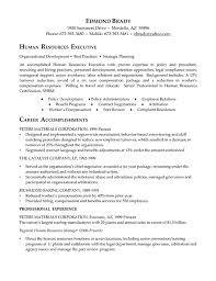 Executive Resumes Examples Human Resource Administration Sample Resume 5 Hr Executive Resume