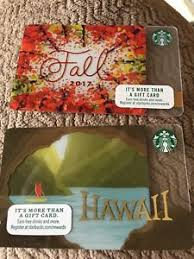 gift card trees new starbucks fall 2017 gift card trees plus hawaii free shipping ebay