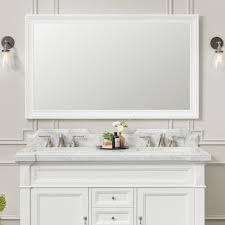Wood Framed Bathroom Mirrors by 60