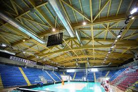 palazzetto le cupole torino edilizia sportiva copertura in legno lamellare per un nuovo