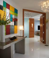 interior design firms entry contemporary with miami chrome flush